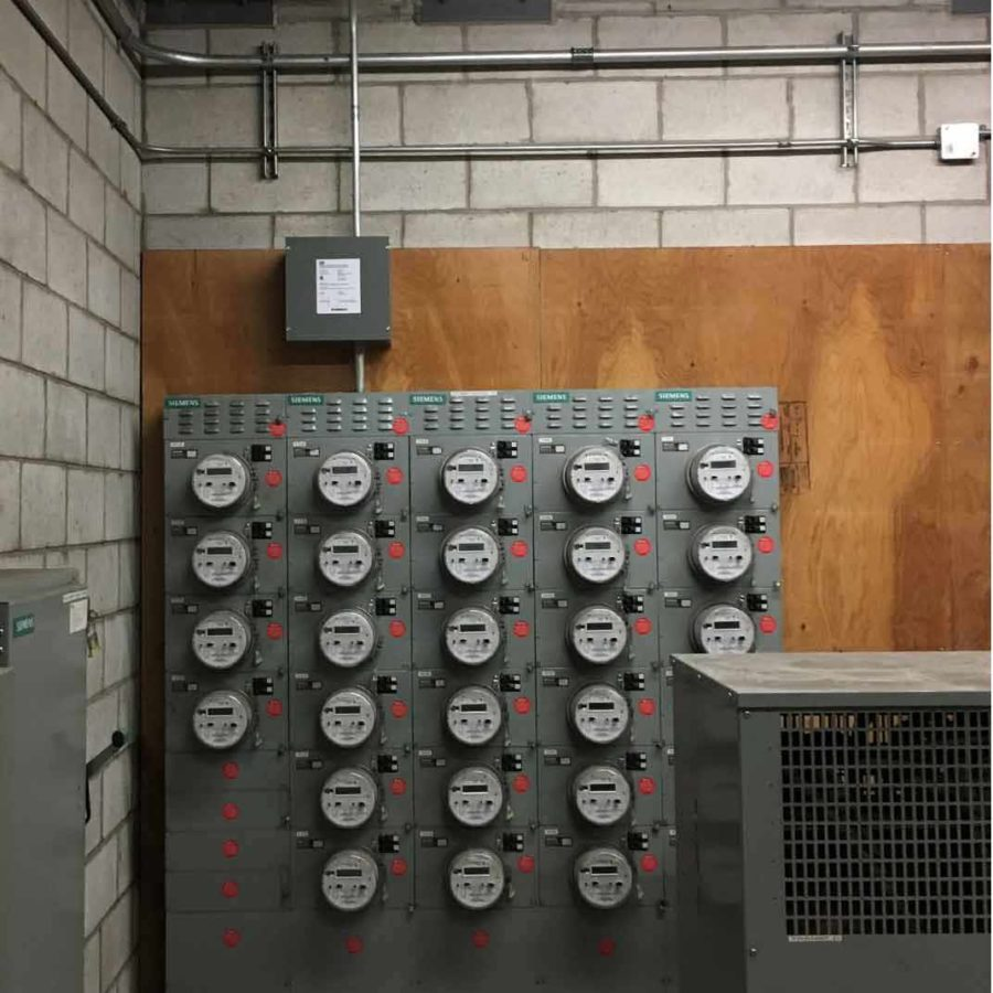 DCC-9 installation in a condo to allow for EV charging.